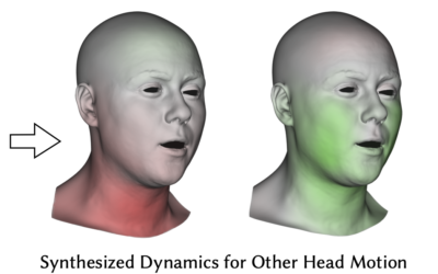 Data-driven Extraction and Composition of Secondary Dynamics in Facial Performance Capture